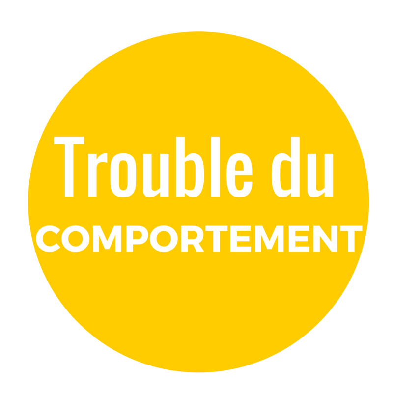 trouble du comportement